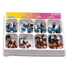 32 шт., автоматические металлические резинки для зубов