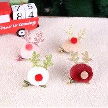 Рождественская повязка на голову, праздничная заколка, Санта, снеговик, подарок для взрослых и детей, Рождественское украшение, гирлянда, украшения для дома, новинка