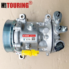 Per Sanden 7C16 ac compressore Peugeot 407 Citroen C5 6453WY 9656572680 6453RG 9648238480 6453RA 9660555380 9670022180 9671820480