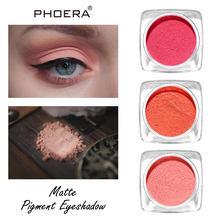 Palette di ombretti PHOERA 12 colori ombretto vellutato naturale opaco liscio ombretti impermeabili cosmetici trucco TSLM2