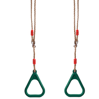 Accessories Hanging Home Pull Up Kindergarten Toy Indoor Outdoor Exercise Swing Ring Playground Triangle Sports Children Fitness