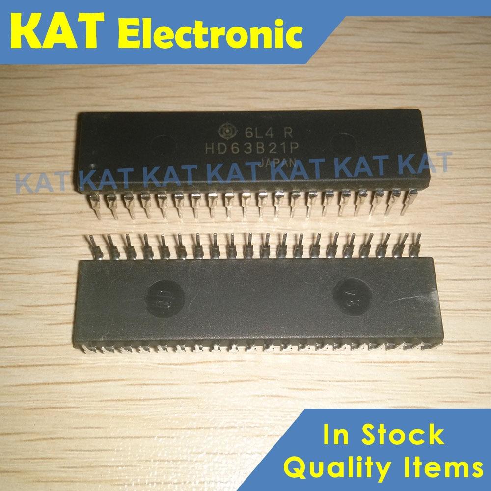 5PCS/Lot HD63B21P HD63B21 DIP-40 2.0MHz PIA (Peripheral Interface Adapter)