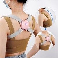 Einstellbar Smart Zurück Haltung Corrector Intelligente Zurück Schulter Korrektur Ausbildung Gürtel Richtige Vibration Glöckner Massager