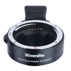 Commlite CM-EF-EOS R Lens Mount Adapter Electronic Auto Focus Mount Adapter for Canon EOS R RF-Mount Full Frame Camera