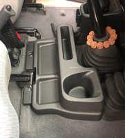 Akcesoria ABS schowek w podłokietniku taca wkładka konsola środkowa Box dla Toyota Land Cruiser LC70 LC71 LC76 LC77 LC79 Car styling