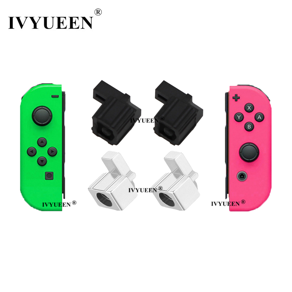 IVYUEEN 1 Pair For Joy Con Original Plastic / Metal Lock Buckle For Nintend Switch NS NX Joy-Con Replacement Repair Parts