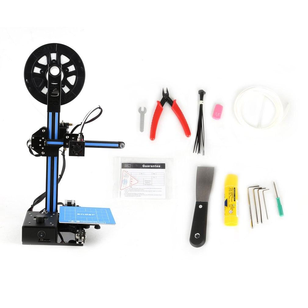 Imprimante 3D Version poulie Guide linéaire kit de bricolage Machine d'impression 3D grande taille d'impression imprimante en métal avec Filament