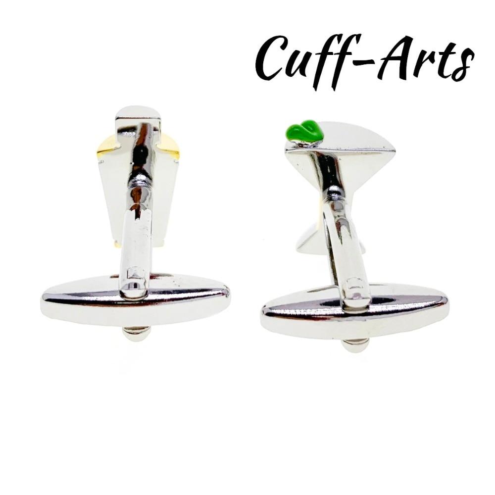 Martini Cocktail Glass /& Shaker Cufflinks