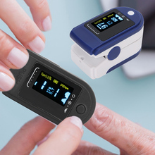 Blood Oxygen Monitor SPO2 Heart Rate Oximeter Fingertip Pulse Meter For Hospital Home Personal Use Sports Health Care Detector