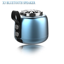 X3 Speaker Portable Mini Wireless Bluetooth Speaker 3D Stereo Bass Outdoor Subwoofer Small Audio Support TF Card Hand-Free Call(China)
