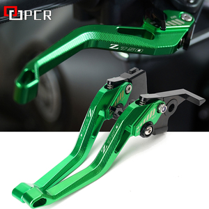 Image 1 - For Kawasaki Z750 Z 750 2007 2012 2008 2009 2010 2011 Motorcycle CNC Accessories Adjustable Brake Clutch Levers Green