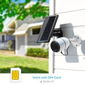 Image 3 - [السفينة عبر DHL]Reolink 4G LTE كاميرا الذهاب 1080p العمل مع بطاقة SIM مانعة لتسرب الماء بطارية قابلة للشحن تعمل بالطاقة ip كاميرا