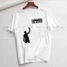 Buuren Blah Trance Music Fans DJ Armin Van T Shirts Summer Casual Women's T-shirt Short Sleeve Femal