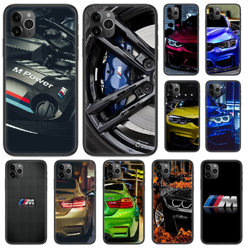 Blue Red Car for Bmw Phone case For iphone 4 4s 5 5S SE 5C 6 6S 7 8 plus X XS XR 11 PRO MAX 2020 black coque soft prime trend image