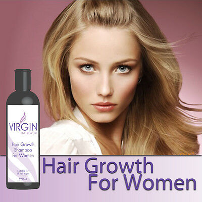 VIRGIN FOR WOMEN HAIRLOSS SHAMPOO LADY S HAIR GROWTH STOPS THINNING HAIR image