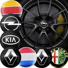 4 шт. 56 мм Центральная втулка колеса автомобиля Кепки наклейки для автомобиля R VW CC Гольф для девочек 4, 5, 6, 7, 8, Mk4 Mk5 Mk6 MK7 Scirocco Jetta Beetle Passat Tiguan