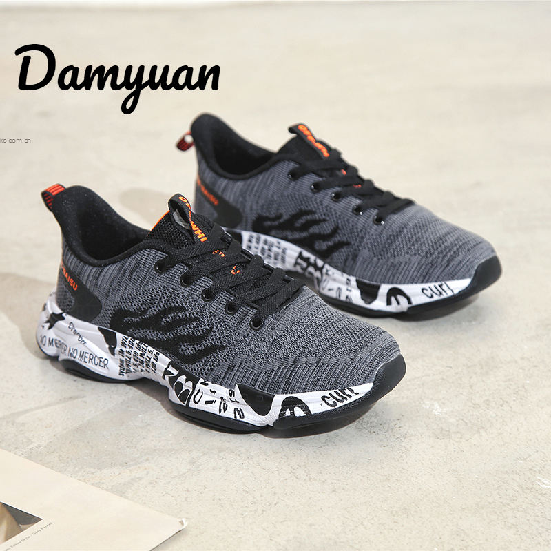 Damyuan 2019 New Fashion Air Cushion Shoes Men Casual Shoes Women Breathable Non leather Lightweight Sneakers Men 39 S Shoes