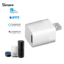 Sonoff Micro 5V Wireless USB Smart Adaptor Flexible and Portable Make USB Devices Smart via eWeLink APP Voice Control For Alexa(China)