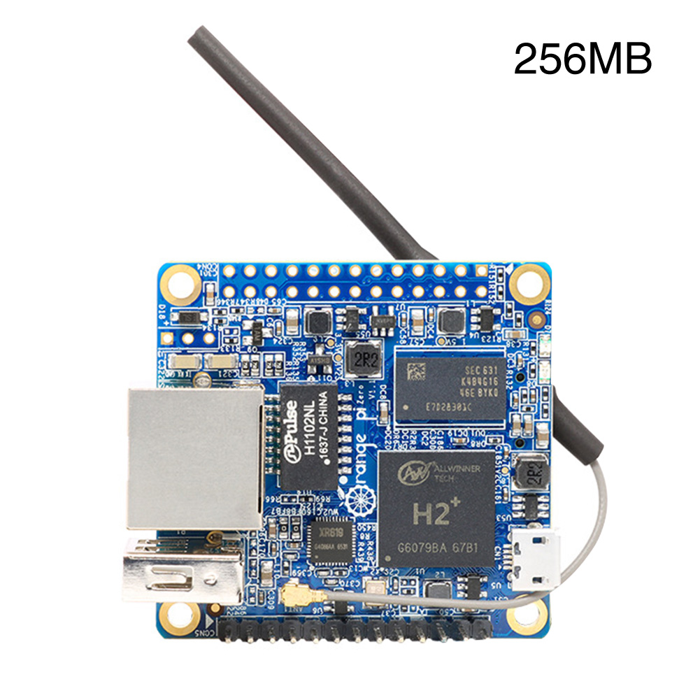 Orange Pi Zero H2 Tool Mini Development Board With WiFi Antenna Integrated 256MB 512MB Components Quad Core For Raspberry Pi image