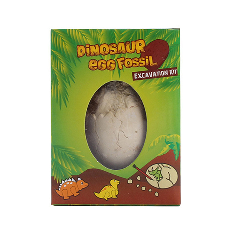 DIY Dinosaur Eggs Toy Kids Novelty Digging Fossils Excavation Toy Children Educational Gifts Toys Random 1PC