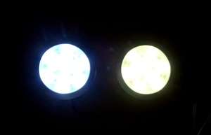 Image 4 - Diodo emissor de luz do ponto gabinete 9led dc12v 120lm 1.8 w redondo fino mobiliário doméstico decorativo guarda roupa gaveta mostrar caso pçs/lote