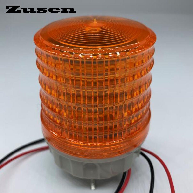 Zusen TB5051 24V Three Colors Signal Lamp Warning Light LED Small Flashing Light