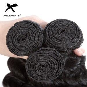 """Image 4 - Onda profonda Bundles 100% Dei Capelli Umani Bundles Brasiliano Capelli intrecciati 1/3/4 Bundles capelli Non Remy Colore Naturale 8 """" 26"""" Estensioni dei capelli"""