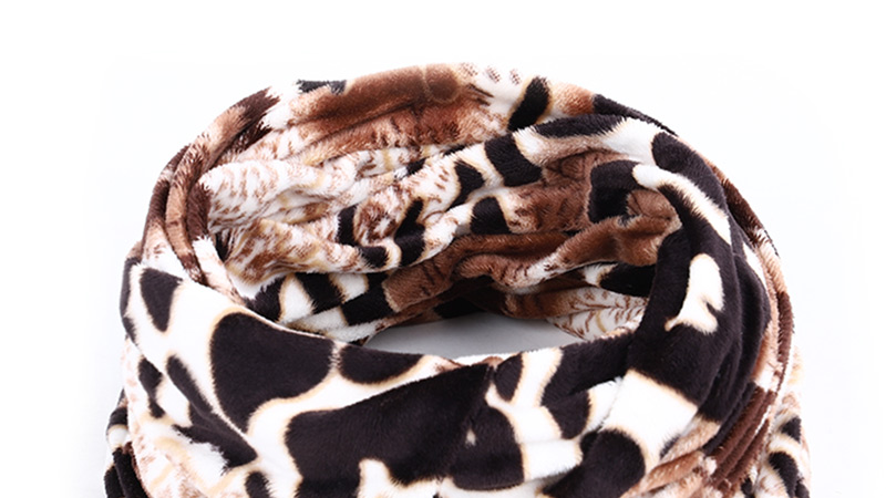 Новинка, осенне-зимний женский шарф с принтом для женщин, модный бархатный тканевый шарф, мягкий удобный женский винтажный шарф