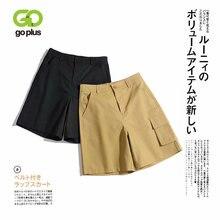 Шорты goplus женские с высокой талией свободные короткие штаны