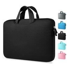 Все Сумки для ноутбуков 11,6 13,3 15,4 15,6 дюймов Тетрадь сумка для ноутбука MacBook Air Pro 13 чехол для ноутбука сумка для ноутбука, возрастом 11, 12, 13, 15 дюймов, защитный чехол