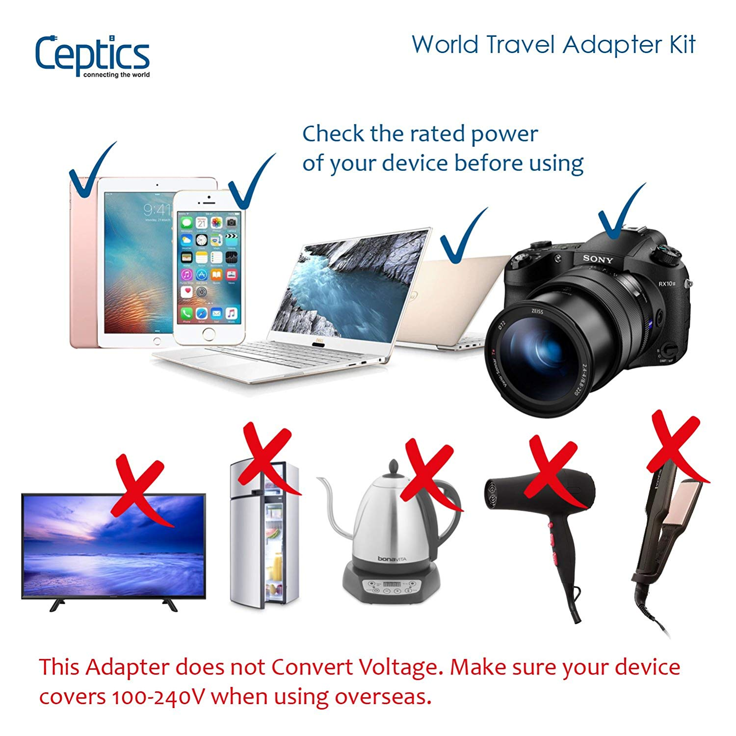 Travel Adapter International Universal Power Socket All-in-one Worldwide Charger AC Outlet Plug Adapter 2A 2 USB for phone mini