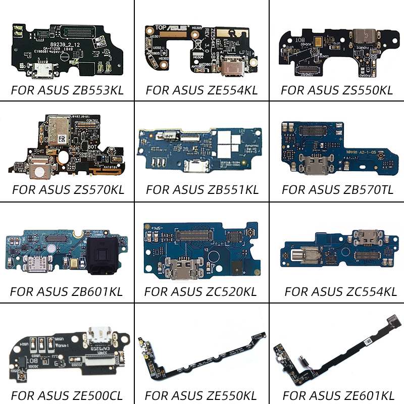 USB Charging Charger Port Flex Cable For ASUS ZS570KL ZS550KL ZB553KL ZB601KL ZE554KL ZB551KL ZB570TL ZC520KL ZC554KL ZE500CL