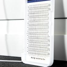 Individual 0.07 0.10mm Thickness Premade Volume Fans 3D 4D 5D 6D 7D Long Stem Russian Eyelash Extension Pre Fanned Lash