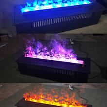 Vapor Fireplace Electric Flame Ce-Certification Indoor 150cm 3D LED with Three-Colors