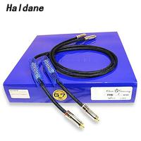Haldane Pair HIFI Audio Siltech 25th Classic Anniverary 770i RCA Interconnect Audio Cable RCA Audio Cable without Box