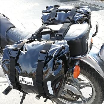 Bolsa de asiento trasero para motocicleta de alta calidad, alforjas para moto,...