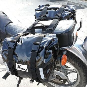 Nueva bolsa de asiento trasero de motocicleta de alta calidad, bolsas de...
