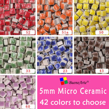 5mm Micro Ceramic Mosaic Tile, Thickness: 3.5mm, DIY Hobbies Craft Material. DIY Tiny Mini porcelain Mosaic tessera