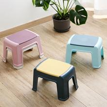 Shoes Stool Furniture Bench Living-Room Changing Plastic Small Kids Non-Slip Bath 1pc