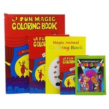 Маленький/средний/большой размер волшебная раскраска Смешные фокусы крупным планом магическая книга магии ментализм иллюзия, трюк, реквизит