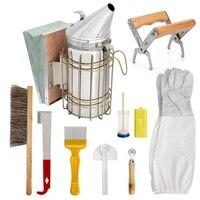 Beekeeping Supplies Beekeeping Tools for Beekeeper Beekeeping Starter Kit Chisel, Bee Brush, Wheel Wire Embedder
