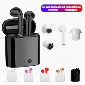 i7s TWS Wireless Earphones Airpoding Bluetooth headphones spuer bass sport Earbuds Headset For Iphone Xiaomi Huawei Samsung