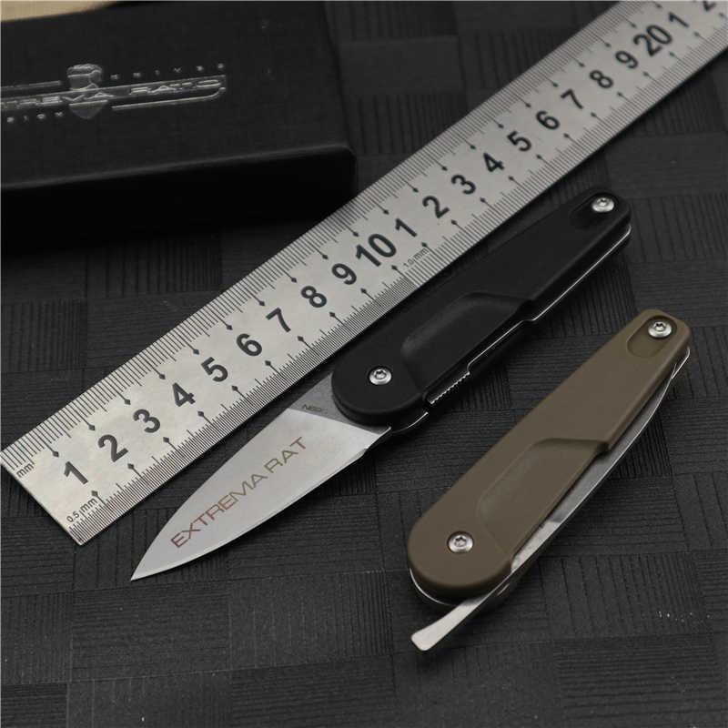 Coltello da tasca pieghevole rapporto estremo D2 coltello in acciaio affilato durevole campeggio esterno caccia sopravvivenza coltelli pieghevoli tattici strumento EDC