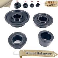 4Pcs/Set Tire Wheel Balancer Repair Adapter Car Parts Taper Cone Standard Vehicle Tool 40mm Shaft Wheel Tire Balancer Steel Cone
