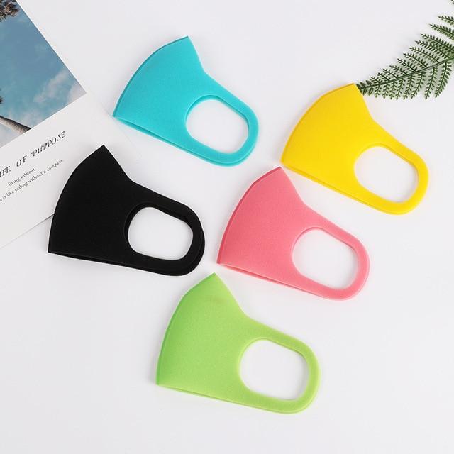 3pcs Children Mouth Mask Anti Dust Haze Sponge Mouth Face Mask Respirator Masks bacteria proof Flu Face masks Care with 6 color 1