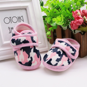 0-6 Months Camo Winter Warm Baby Shoes Girl Boy Soft Sole Boots Newborn Snow Boots Toddler Crib baby girls Shoes