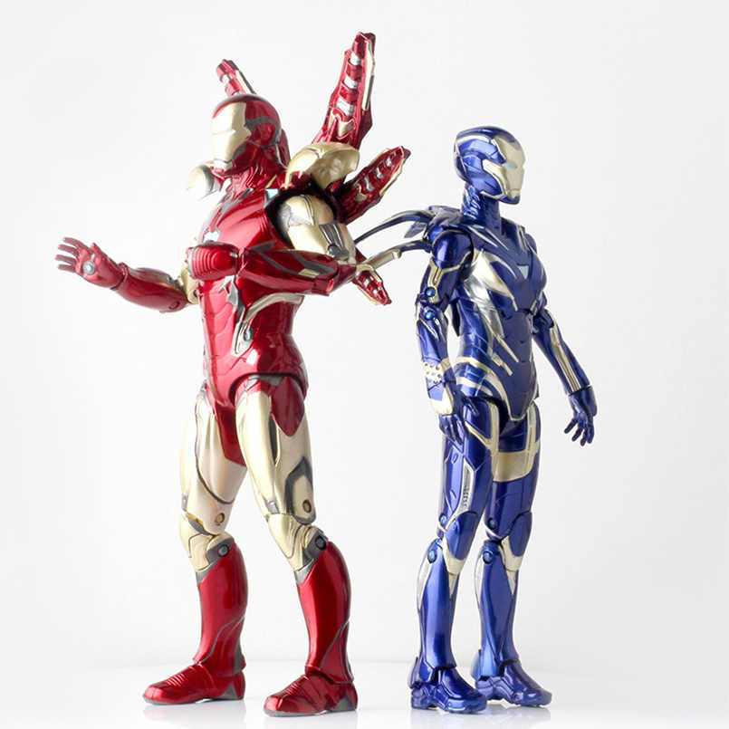17 Centimetri Pepe Marvel MK85 Iron Man The Avengers 3 Ferro Spider Man Amazing Spiderman Mobile Action Figure Giocattoli di Modello