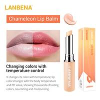 Hyaluronic Acid Long Lasting Nourishing Lip Balm Moisturizing Reduce Fine Lines Relieve Dryness Repair Damaged Lip Care LANBENA 6