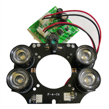 F-4-C4 Infrared Light Board CCTV camera IR LED module 4pcs 42mil 3W array For DAHUA Security IP Camera