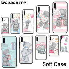 Soft Case for Samsung A10s A20s A30s A40s A50s A60 A70 M10 20 30 40 A6 A7 A8 A9 Cover 227N Me To You Bear Style Thin(China)